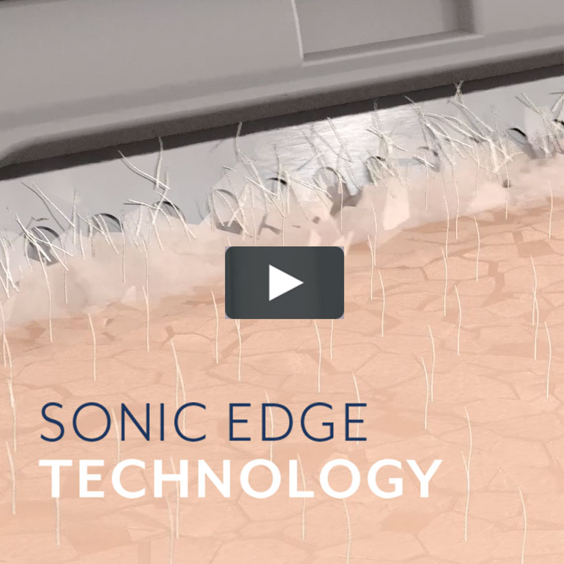 Sonic Edge Technology - click here to play video